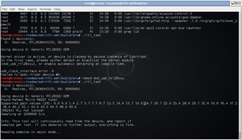 DVB-T USB SDR - charlesreid1