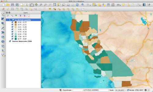 Leaflet Quantile Map - charlesreid1