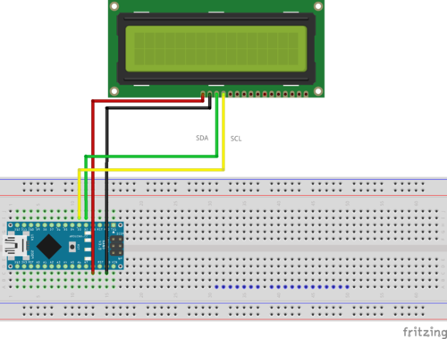 Arduino lcd hook up